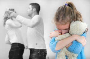 domestic abuse in the presence of a minor